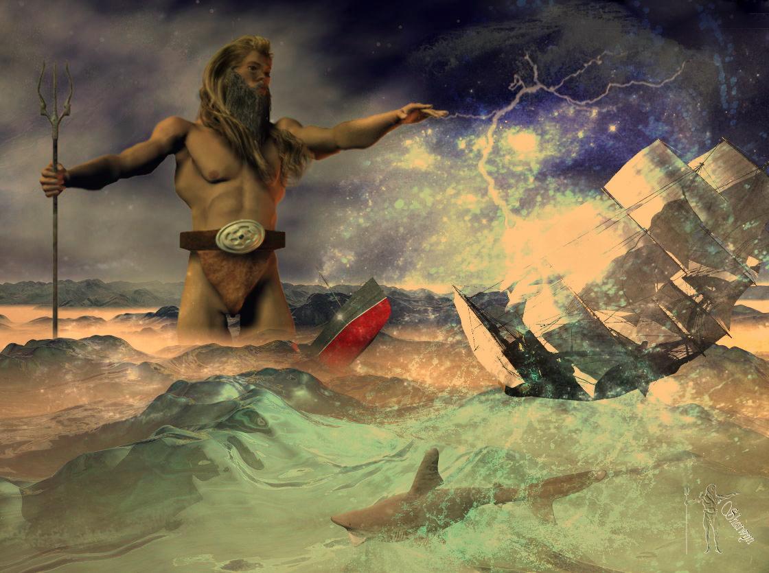 Zorn des  Poseidon