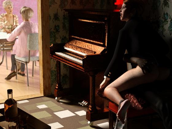 Das Klavier - Achtung, aufdringliche Nacktheit