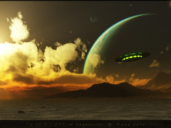 TG21O - UFO im Gegenlicht
