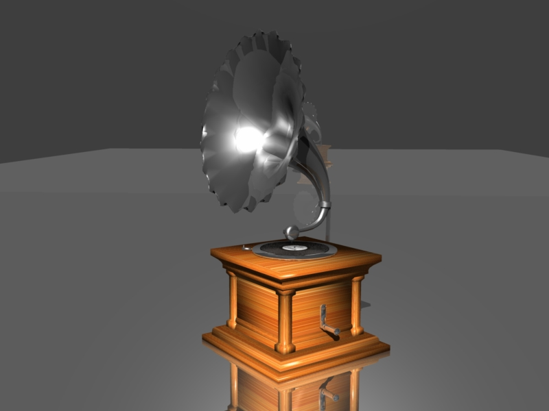 Das Grammophon - Speedmodelling Contest Feb 2009