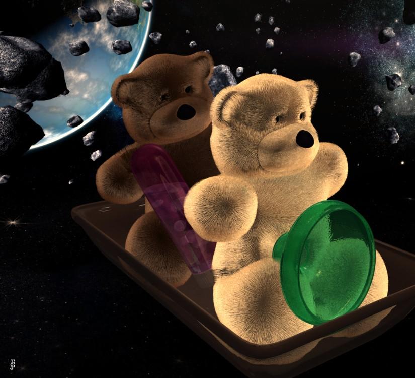 Bären im Weltraum