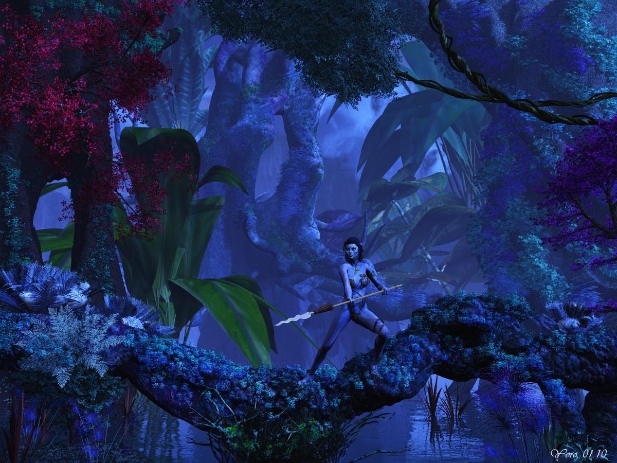 Nacht in Pandora