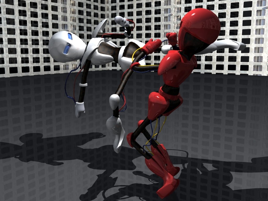 Roboter Fight