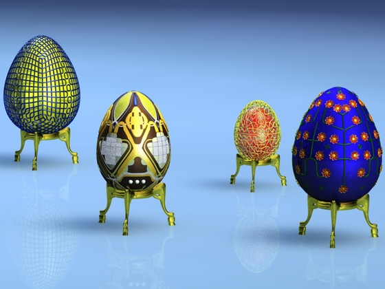 Seltsame Eier