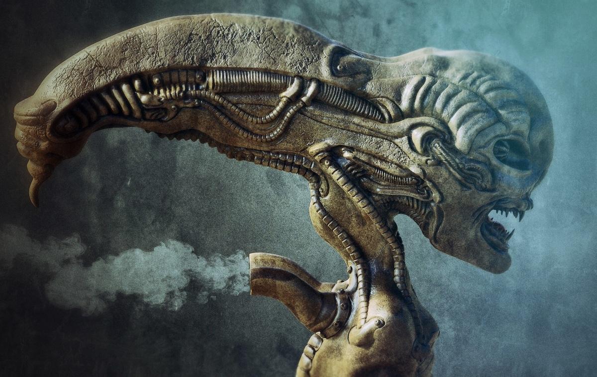 Alien Giger Style