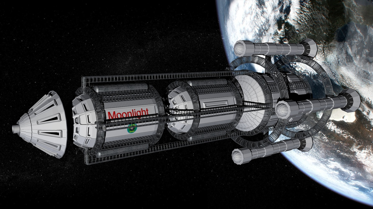 Explorer RSS Moonlight
