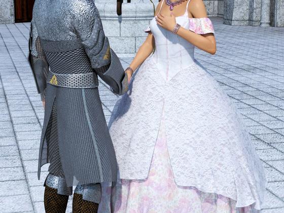 Die Prinzessin und der Ritter