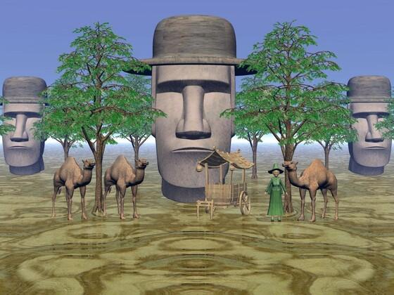 Skulpturen A