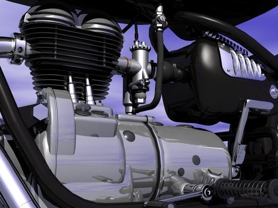 BMW R27 Motor