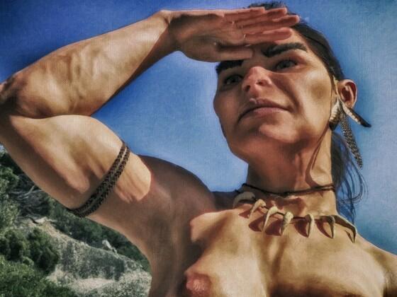 Roda, Neandertalerin