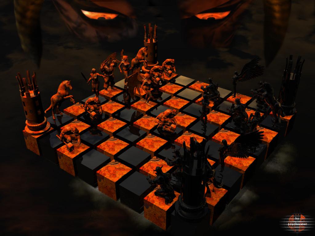 Schachmatt dem Teufel