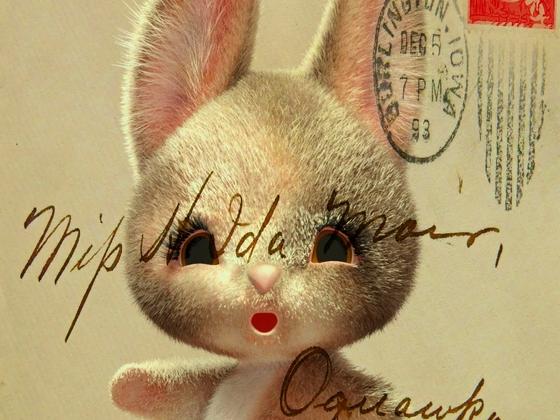 Postcard-Plushie