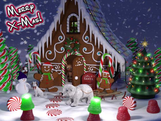 Frohe Weihnachten - auch von mir :)