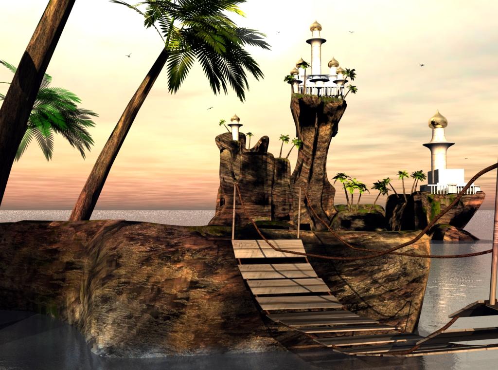 Surreal Inseln