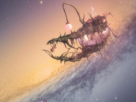 Laternenmonster und Schunkelfliege