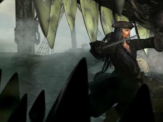 The Sparrow an`the kraken by KomyFlyinc@