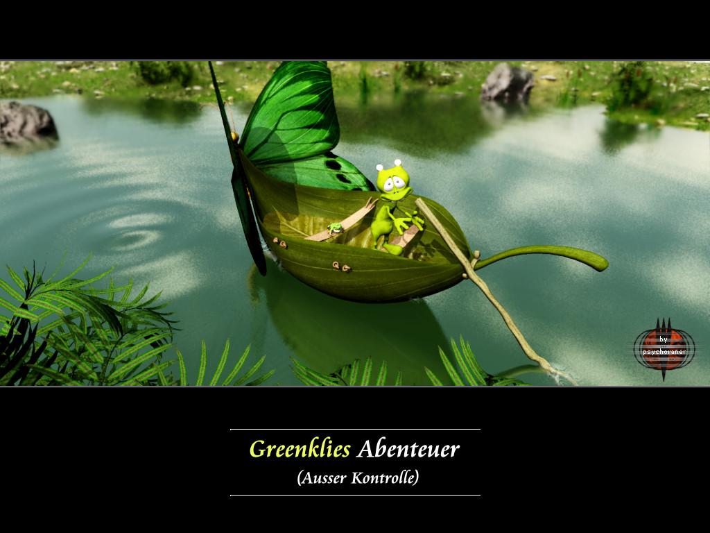 Greenklies Abenteuer (2): Ausser Kontrolle