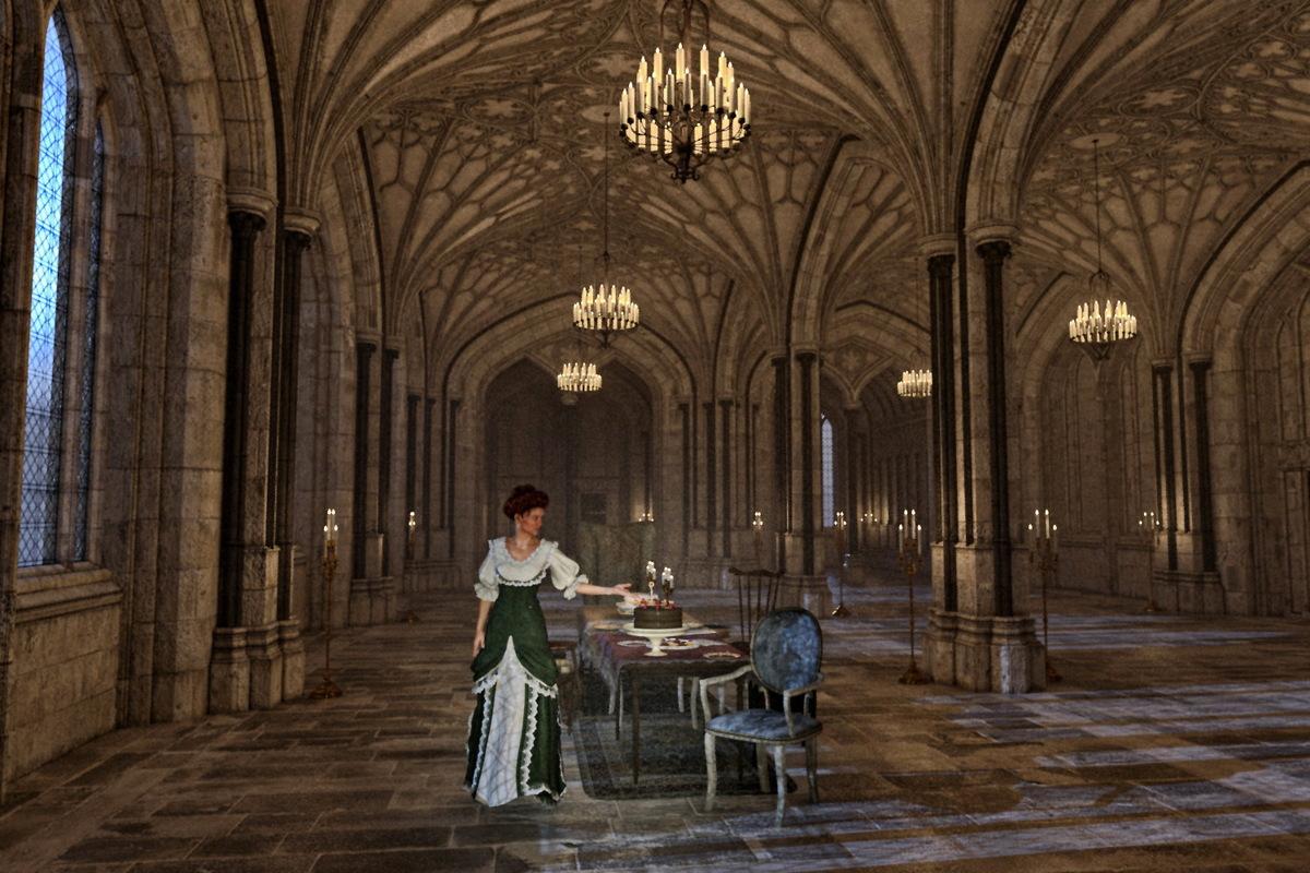 Die Ahnfrau bitte zu Tisch