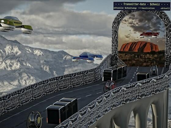 Mobilität in einer sehr fernen Zukunft