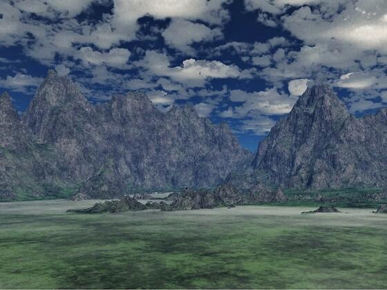 Berglandschaften B