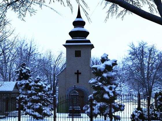Friedhof Einfahrt
