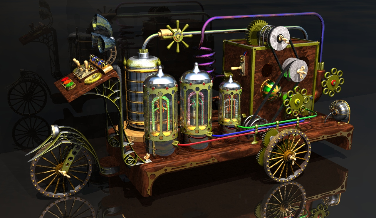 SteamPunk Maschine # 001
