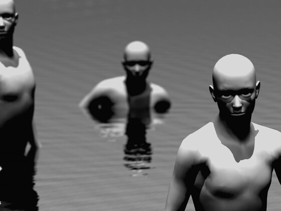 Waterworld - first contact