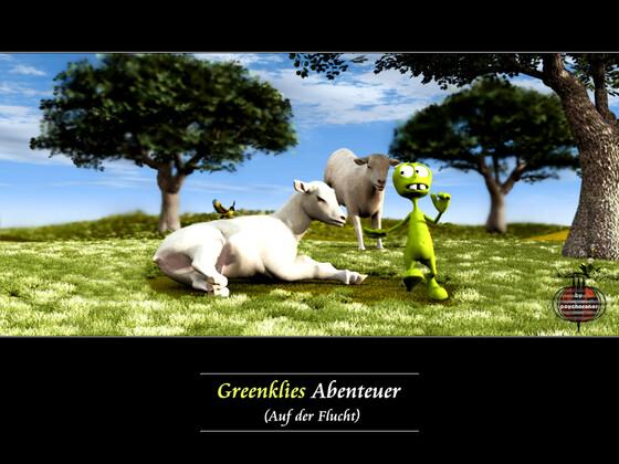 Greenklies Abenteuer (5): Auf der Flucht