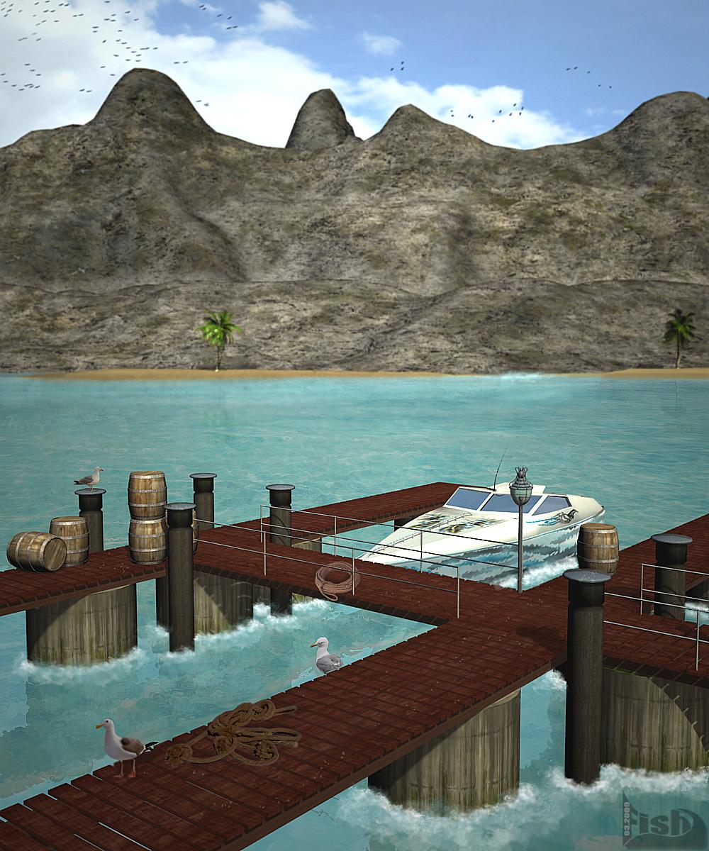 Hafen von Brithana