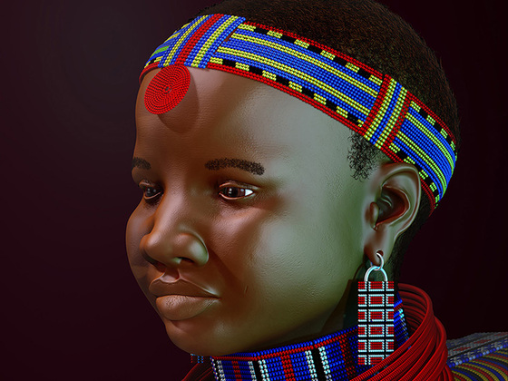 Massai Girl
