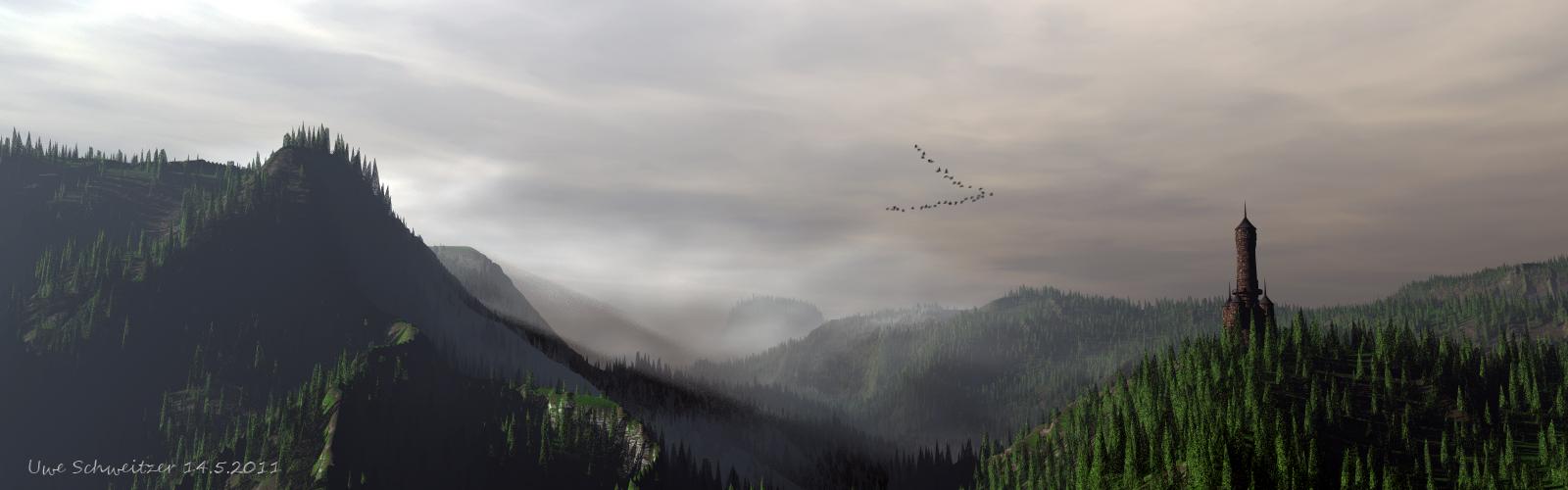 Die Wildgänse fliegen immer noch.