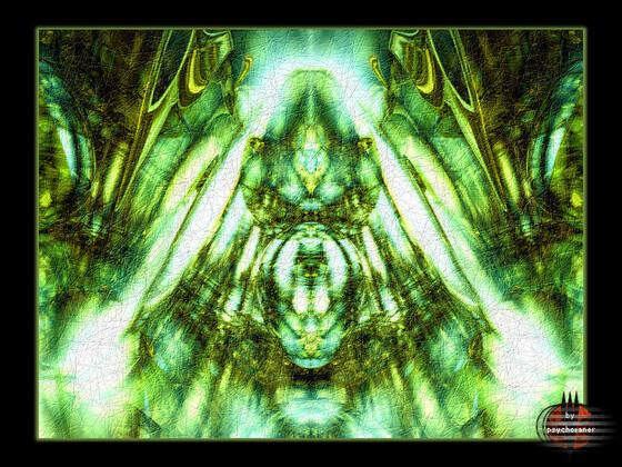 Abstrakt // (Mini-Serie v3-5) Green Freaks