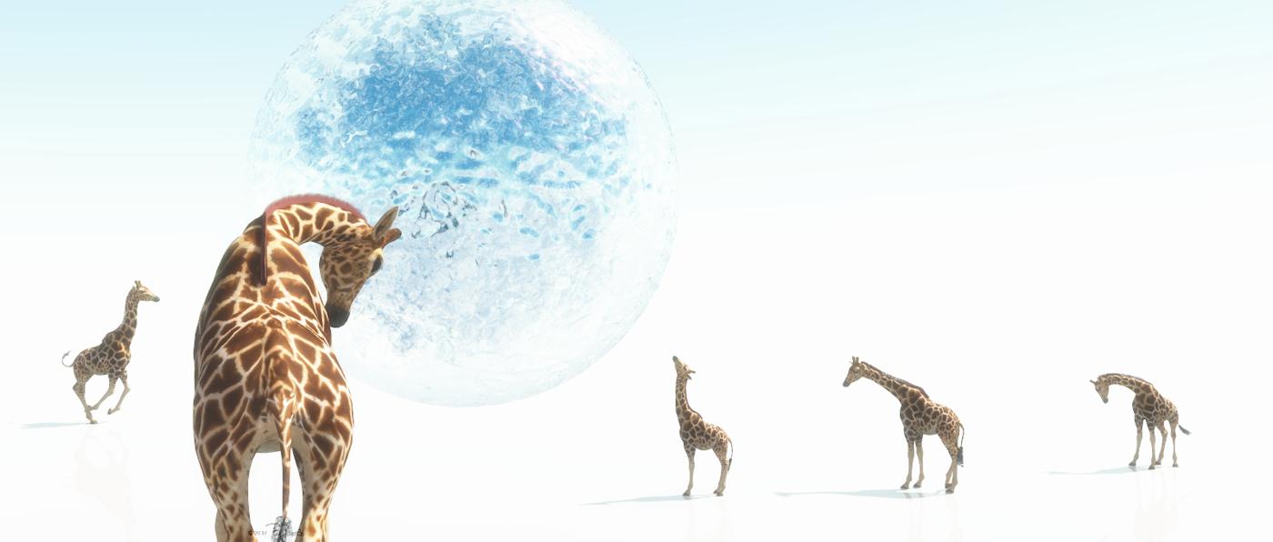 Der Traum der Giraffe vom Wasser