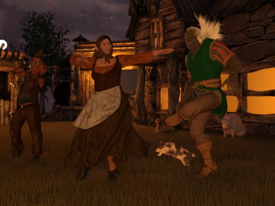 Lori - Tanz in der Nacht Rohrender