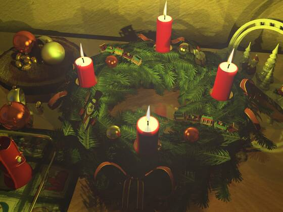 Allen Boardmitgliedern einen schönen 4. Advent
