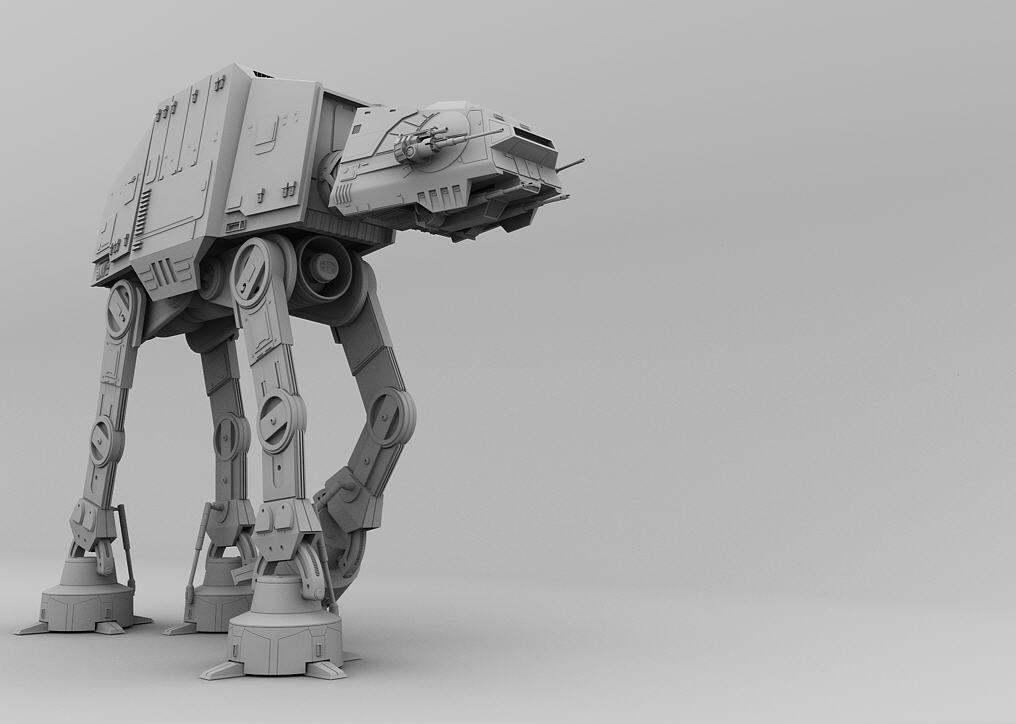 All Terrain Armoured Tank (AT-AT)