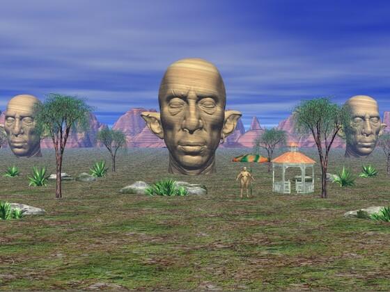 Skulpturen B