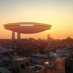 UFO über Barcelona