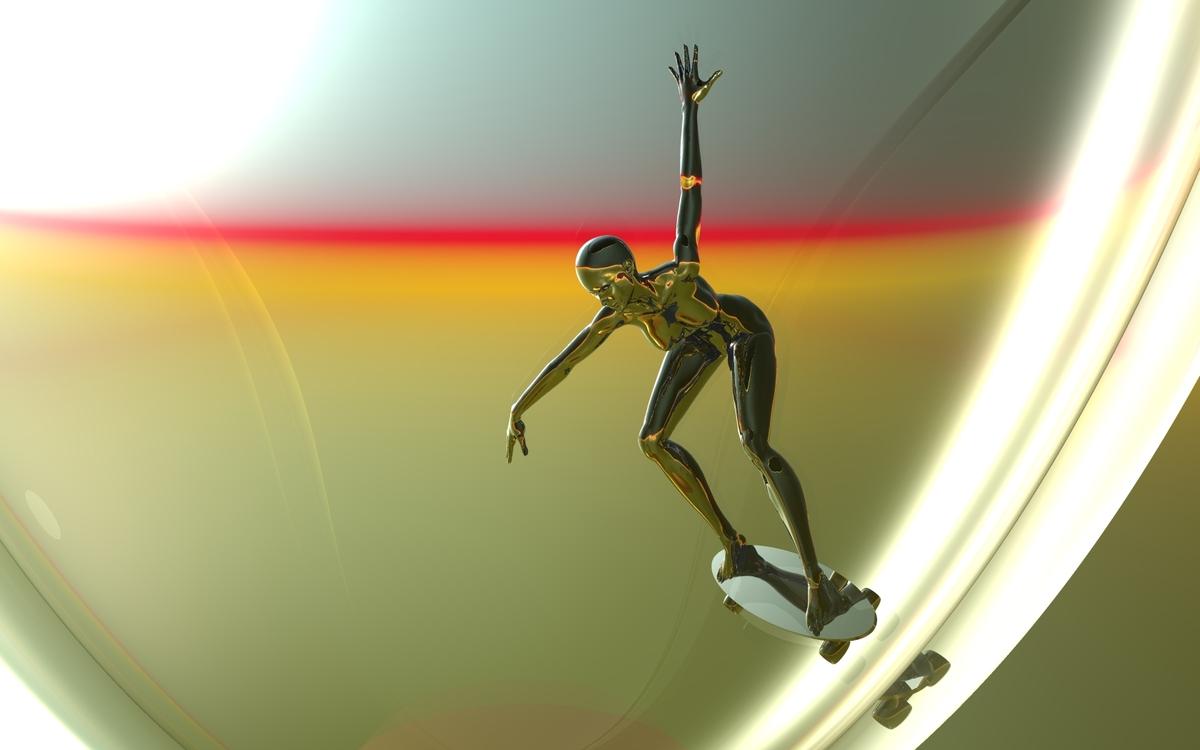 Cyber-Skater
