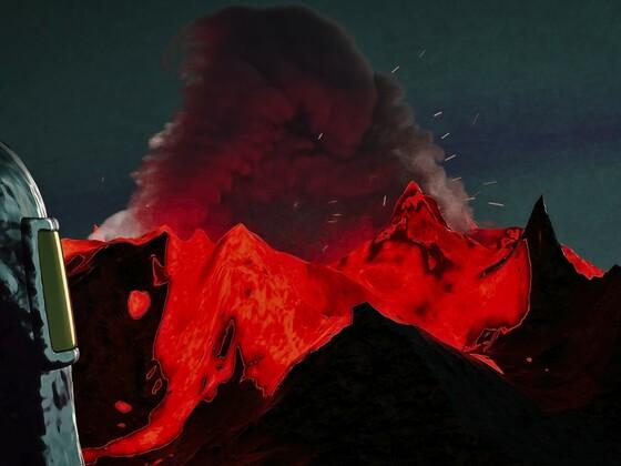 Mutprobe: Tanz auf dem Vulkan