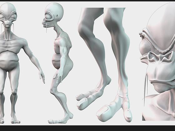 Projekt-Alien /Charakterkonzept/