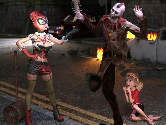 Harley Quinn gegen den Joker