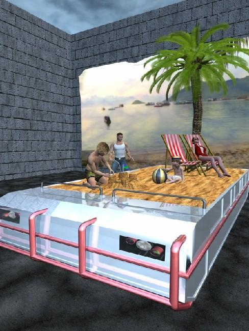 Mobile Paradise - Beach