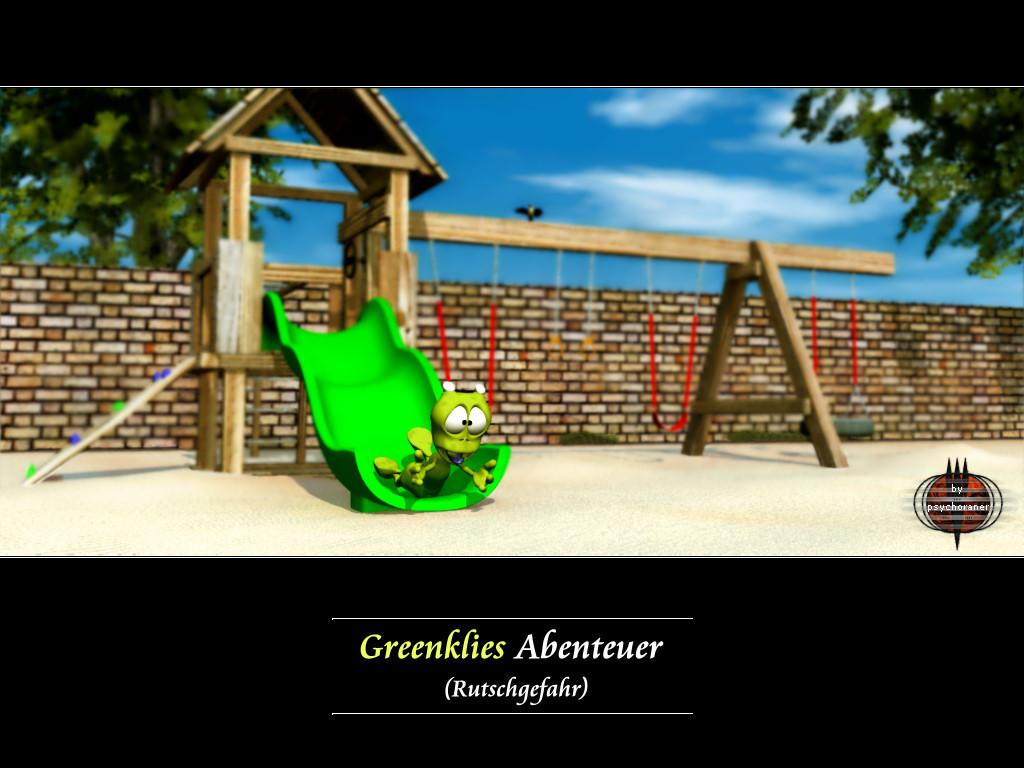 Greenklies Abenteuer (4): Rutschgefahr