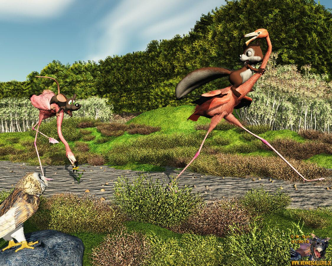 Flamingorennen