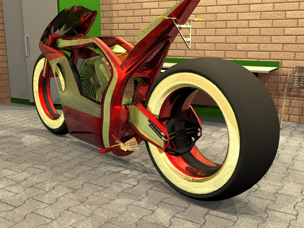 hubless concebt bike