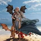 Fanart  -  GoT  - Because I love Dragons