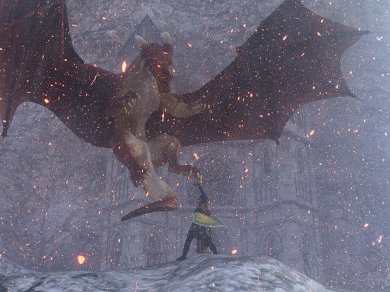 Tapferer Ritter Robin - Der Kampf gegen den bösen Drachen Vorimoth