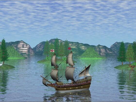 Segelschiff Mayflower