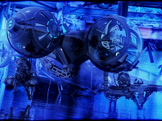 Artificial Intelligence Hunter Drone